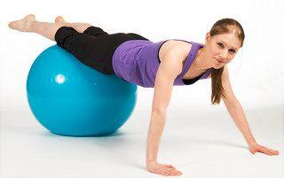 Équipements de fitness : Ballon suisse
