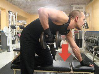 exercices de fitness : bras