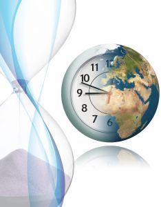 gestion du temps avec une horloge mondiale