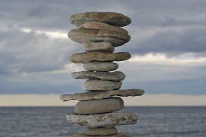 pierres zen - un esprit sain