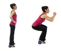 squat pour muscler les cuisses